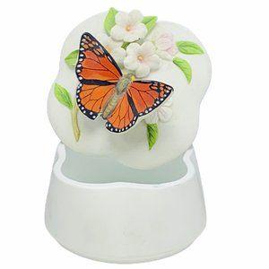 Otagiri Tiger butterfly jewelry box japan floral